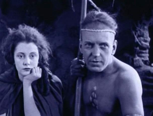 Unkas und Cora