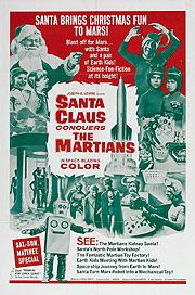 Санта Клаус завоевывает марсиан