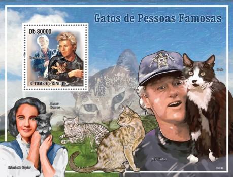 Знаменитости с кошками