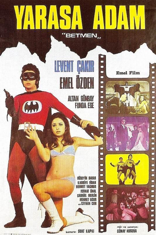 Постер турецкого Бэтмена