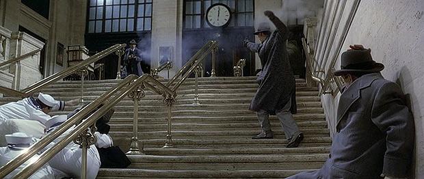 Перестрелка на лестнице